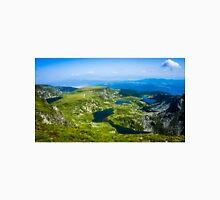 Beautiful Lakes Over The Mountain (The Seven Rila Lakes) Unisex T-Shirt