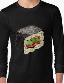 Sushi illustration Long Sleeve T-Shirt
