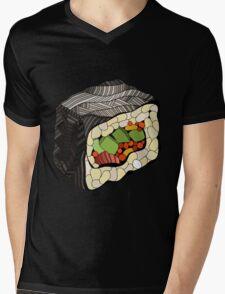 Sushi illustration Mens V-Neck T-Shirt
