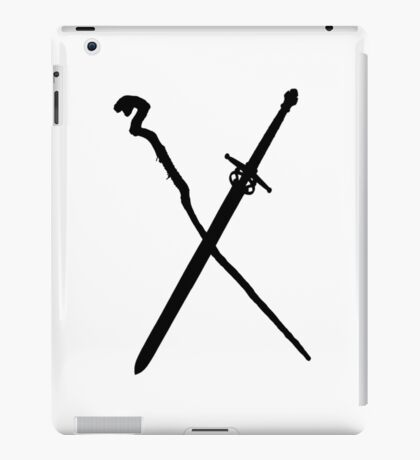 Dungeons And Dragons: The Staff And Sword iPad Case/Skin