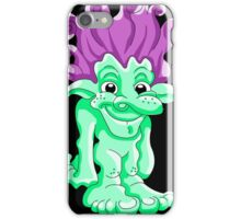 Funny Lovely Troll iPhone Case/Skin