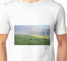 Herd Of Horses high In The Mountains Unisex T-Shirt