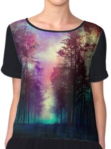 Magical Forest Chiffon Top