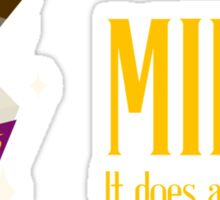 milk. it does a body good. Sticker