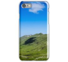 Lone Cloud Over The Mountain iPhone Case/Skin
