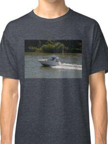 Powerful Motor Boat Classic T-Shirt