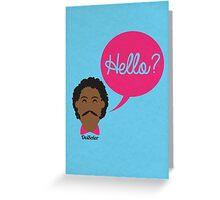 Hello?  Greeting Card