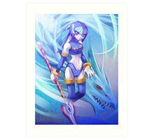 Fairy Leviathan Art Print