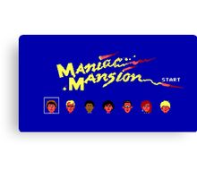Maniac Mansion Canvas Print