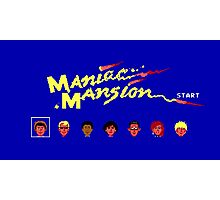 Maniac Mansion Photographic Print
