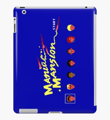 Maniac Mansion iPad Case/Skin