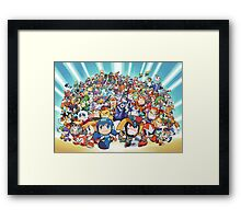 Megaman Full Framed Print