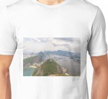 Corcovado to Copacabana from Sugarloaf Mountain, Rio, Brazil Unisex T-Shirt