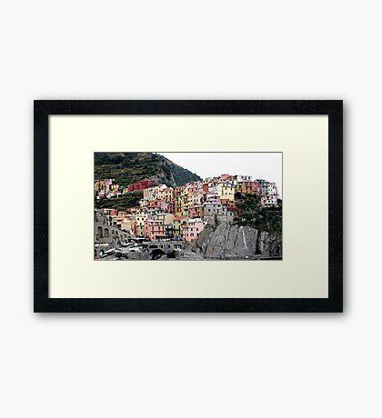 cliff dwellers Framed Print