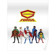 The Cool Movie Cartoon G-Force Poster