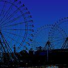 ferris wheel city by tinncity