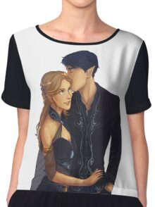 Feyre and Rhysand Chiffon Top