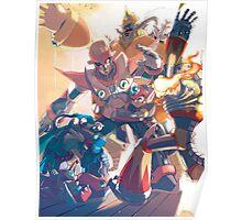 Megaman Top Poster