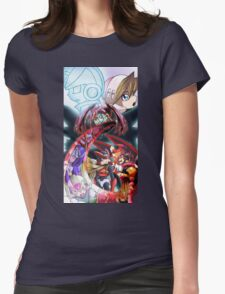 Megaman Zero Womens Fitted T-Shirt
