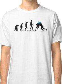 Evolution Football – get your funny football shirt Classic T-Shirt