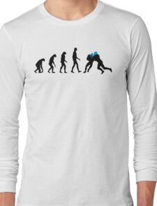 Evolution Football – get your funny football shirt Long Sleeve T-Shirt