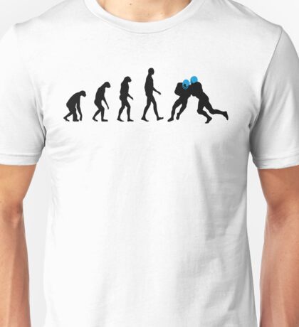 Evolution Football – get your funny football shirt Unisex T-Shirt