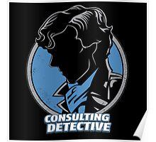 Sherlock Consulting Detective Poster
