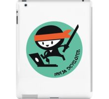 ninja developer programming language iPad Case/Skin