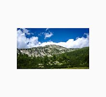 Beautiful peak in the mountain Unisex T-Shirt
