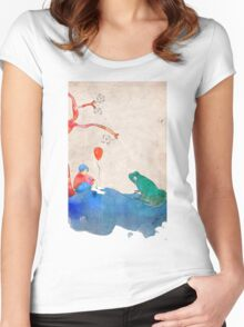 Born Women's Fitted Scoop T-Shirt