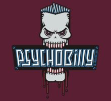 Psychobilly Skull by MrFaulbaum