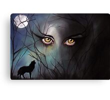 Through Wolf Eyes Canvas Print