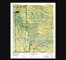 USGS TOPO Map Arizona AZ Tucson SW 313842 1968 24000 Unisex T-Shirt