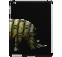 rhino muscles iPad Case/Skin