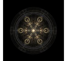 Geometry fractal Symetry Design Photographic Print