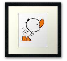 Duckling Baby Framed Print