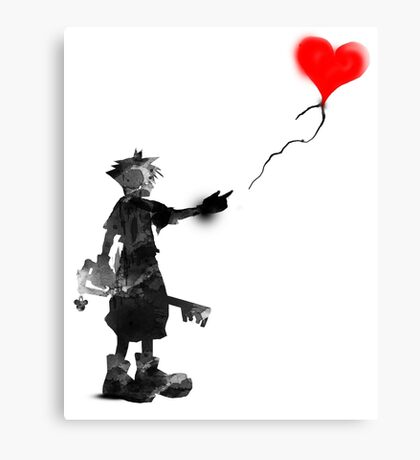 the boy,the key,the balloon Canvas Print