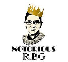 Notorious RBG Photographic Print