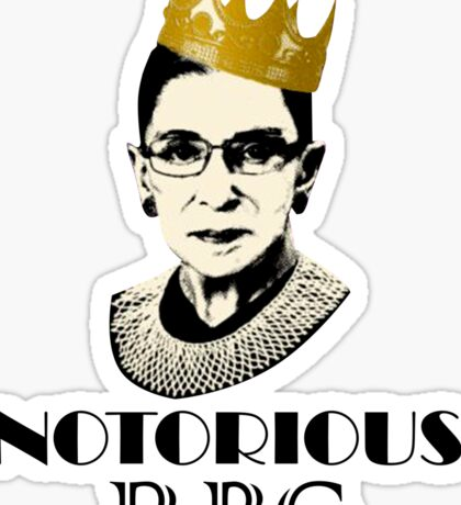 Notorious RBG Sticker