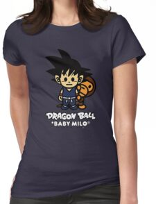 Baby Milo X DBZ Womens Fitted T-Shirt