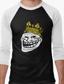 Troll King / MEME King Men's Baseball ¾ T-Shirt