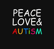 Peace, Love & Autism Unisex T-Shirt