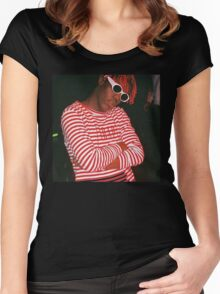 Lil Yachty being Beautiful Women's Fitted Scoop T-Shirt