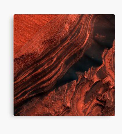 Mars Valley Canvas Print