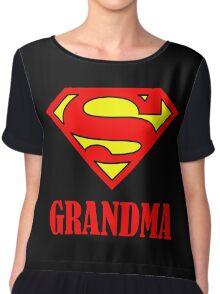 Super Grandma Chiffon Top
