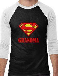 Super Grandma Men's Baseball ¾ T-Shirt