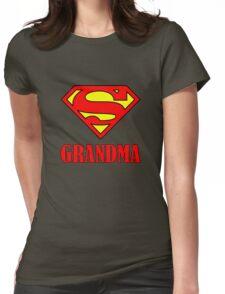 Super Grandma Womens Fitted T-Shirt