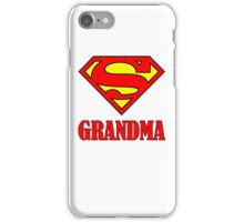 Super Grandma iPhone Case/Skin