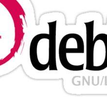 Debian Linux Sticker