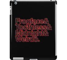 Stranger nicknames iPad Case/Skin